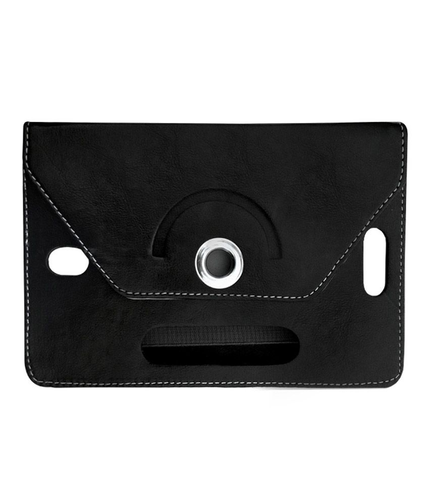 Fastway Flip Stand Cover For BSNL Penta T-Pad Ws707c -Black
