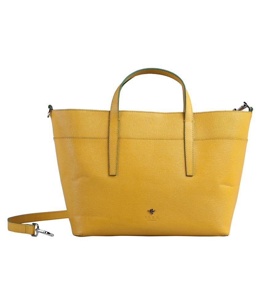 Ilex London Yellow Tote Bag