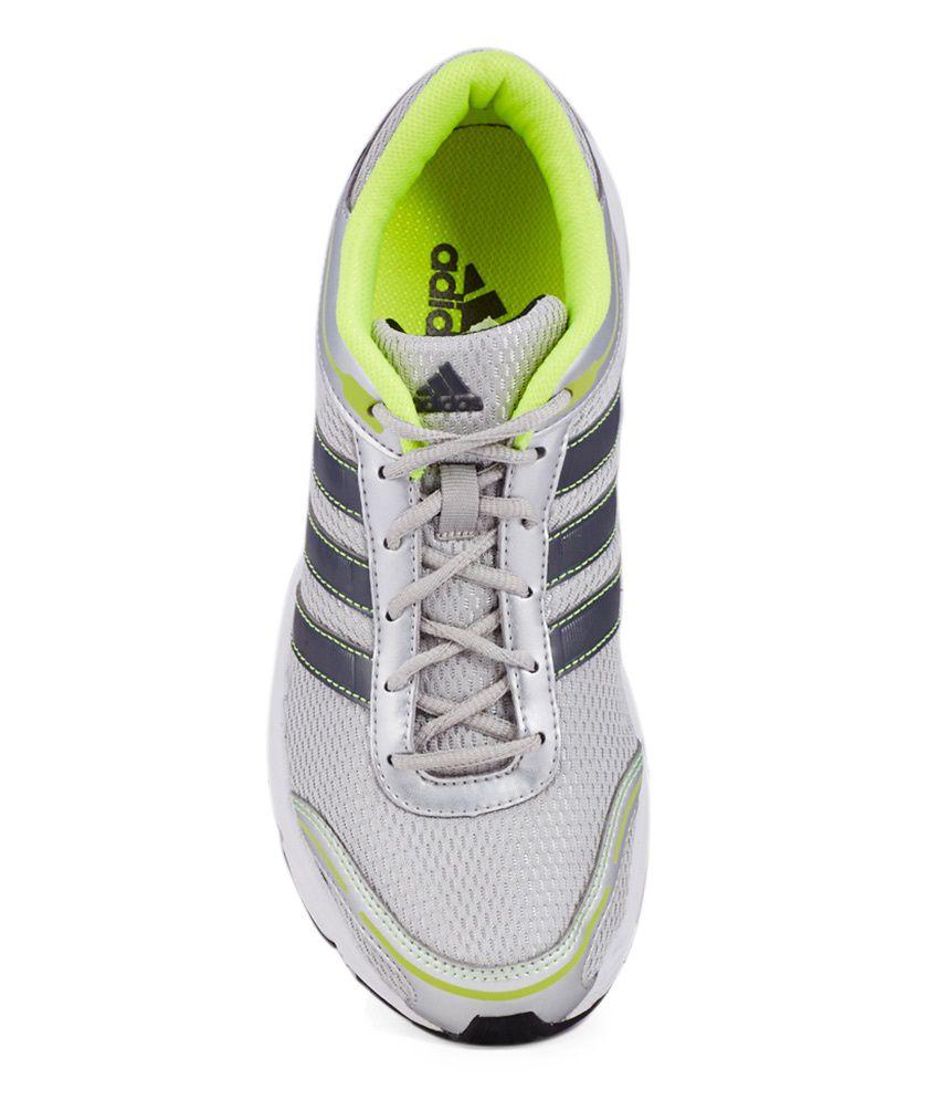 Adidas Eyota M Silver Sport Shoes