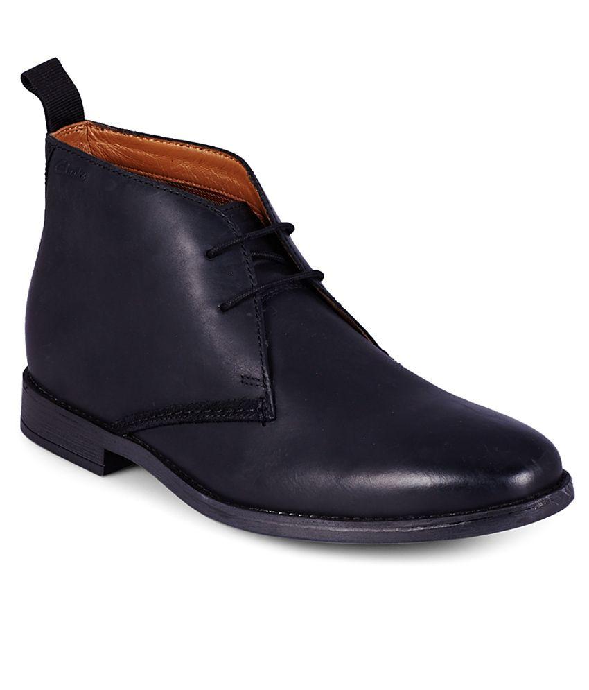 Clarks Black Boots