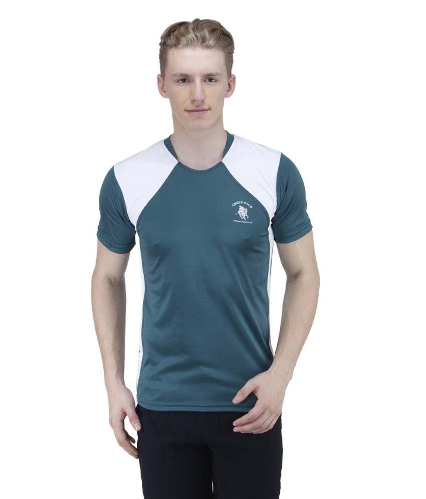 Greenwich United Polo Club Gray Polyester T Shirt
