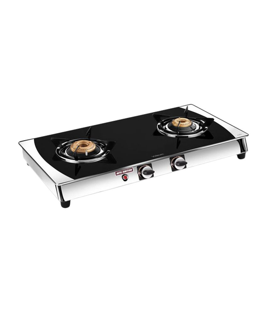 Vidiem Edge Plus 2 Burner Auto Ignition Gas Cooktop