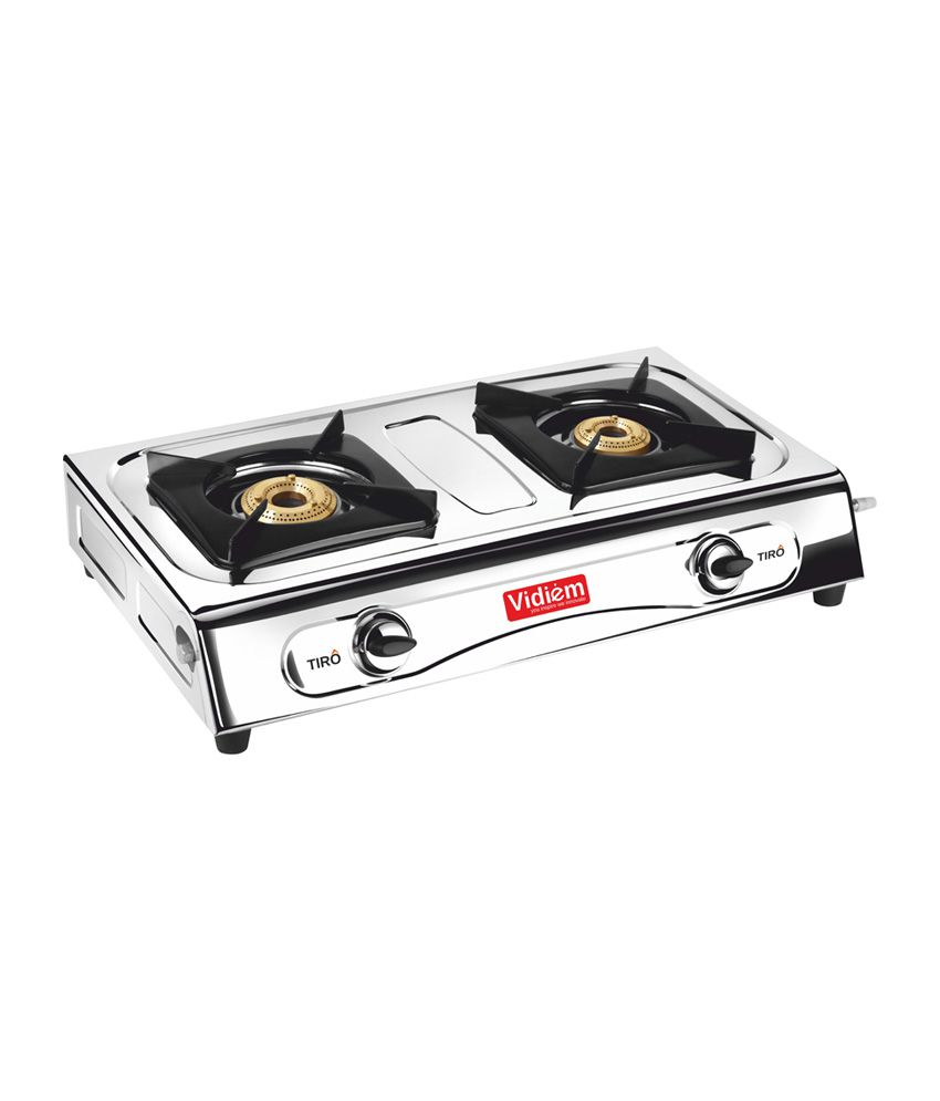 Vidiem Tiro Gas Cooktop (2 Burner)