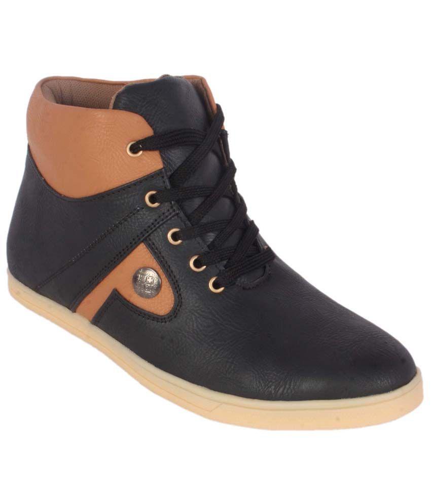 George Adam Black & Brown Boots