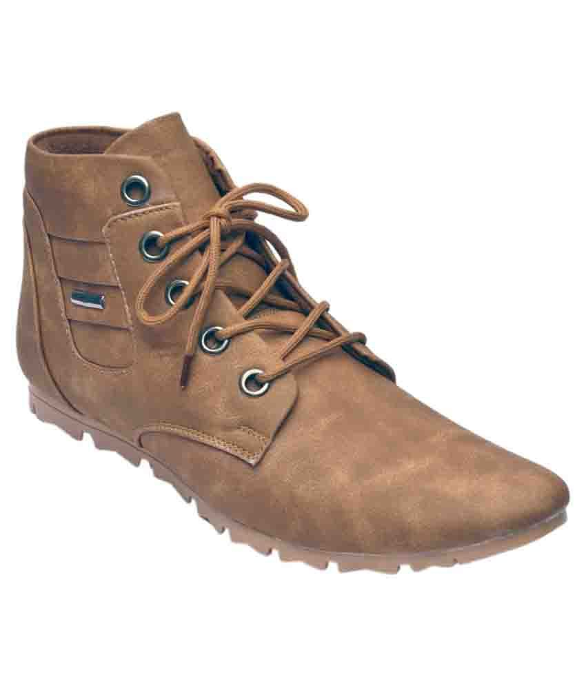Calvin Brown Casual Boots