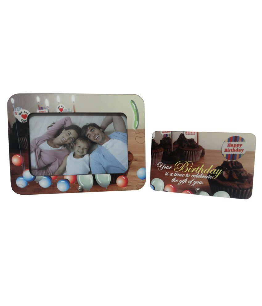 Fabionic Textured Virgin Plastic Photo Frames