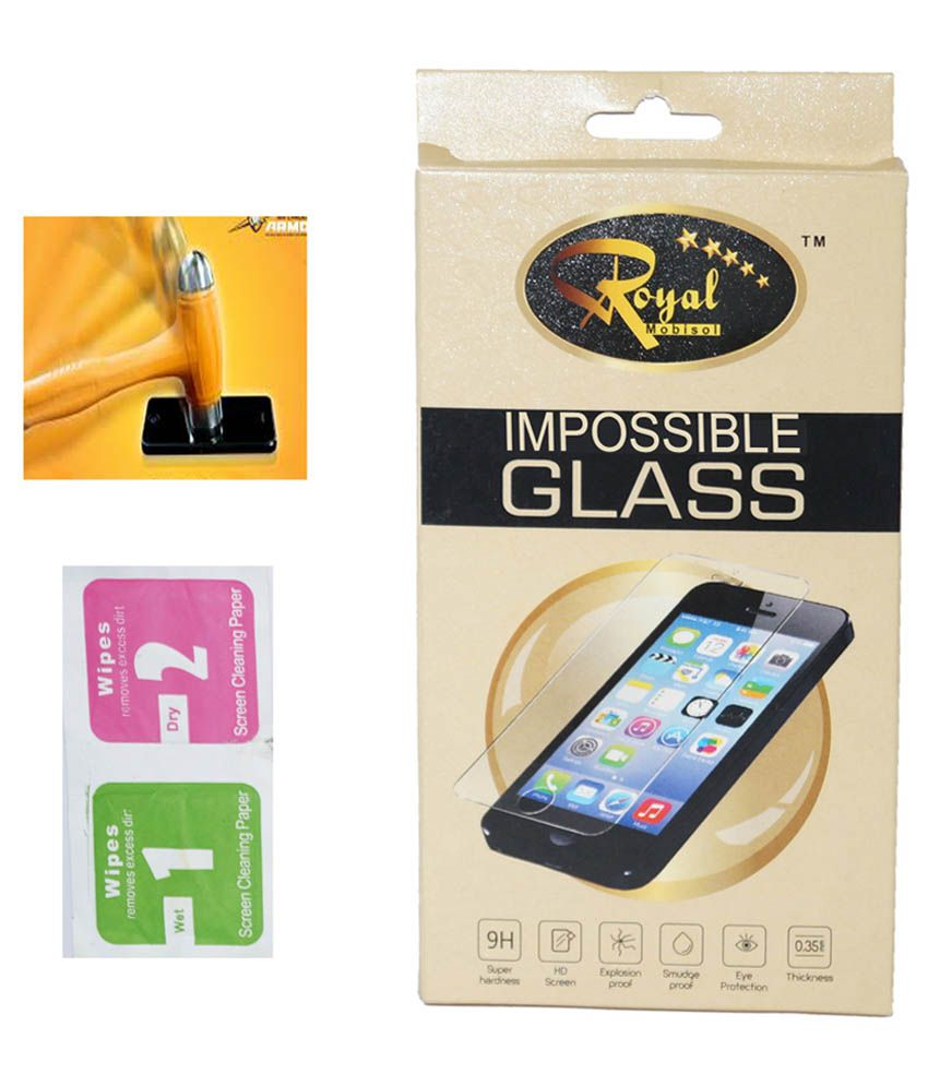 Nokia Lumia 520 Tempered Glass Screen Guard by Royal Mobisol