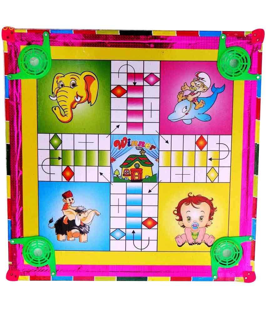 Star Carrom Board - Set Of 2