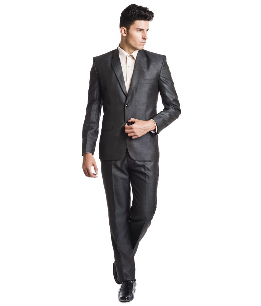 Wintage Black Woollen Suits