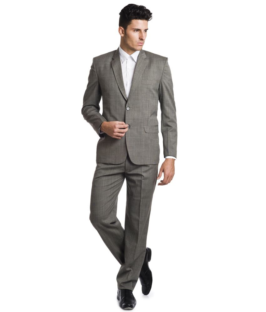 Wintage Brown Woollen Suits