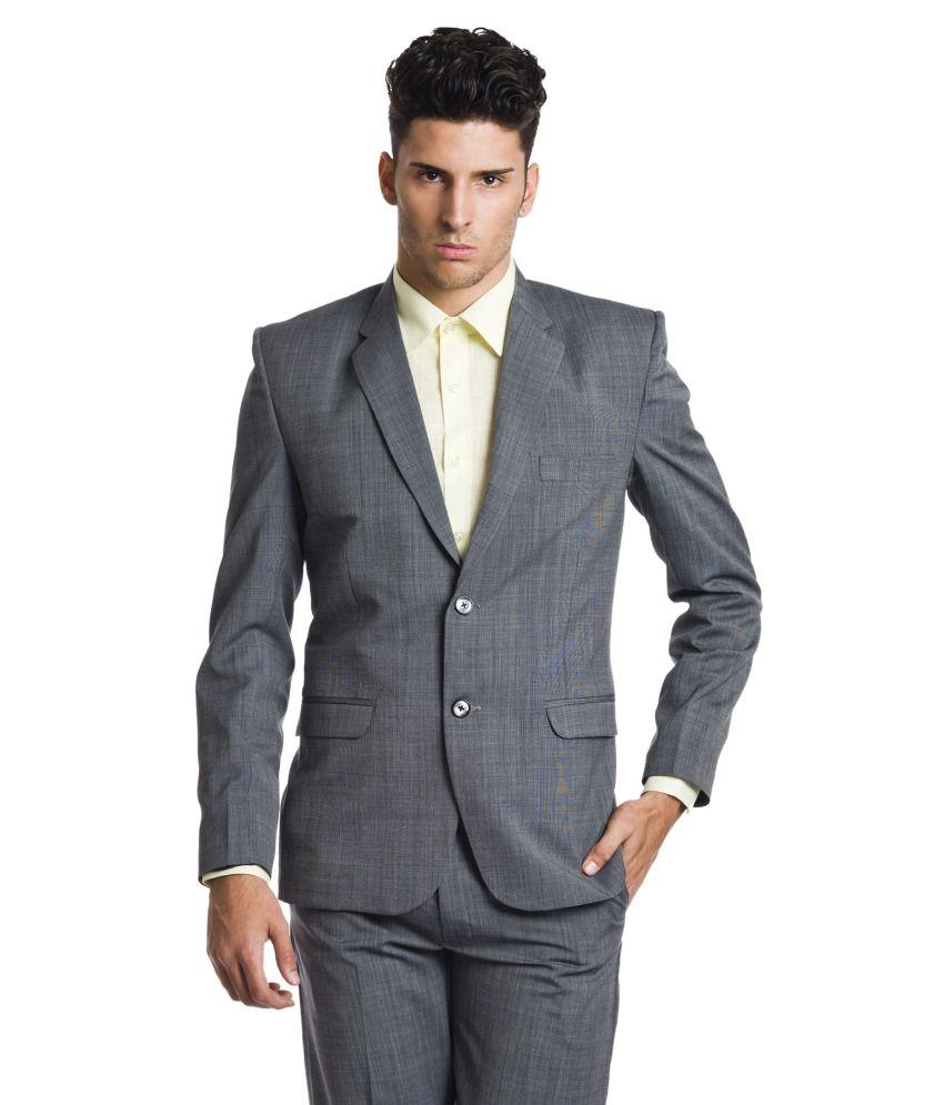 Wintage Gray Woollen Blazer