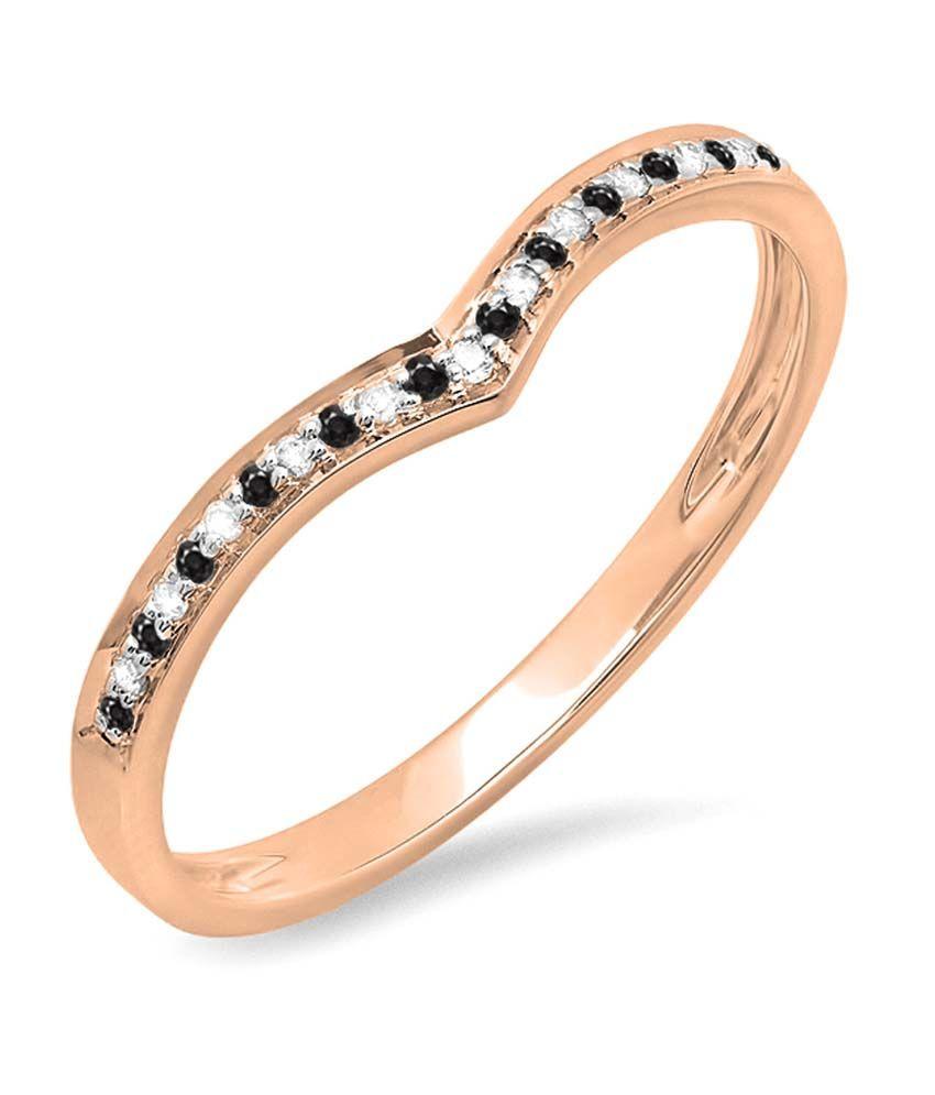 Kavya Jewels 14kt Gold Traditional Diamond Round Ring
