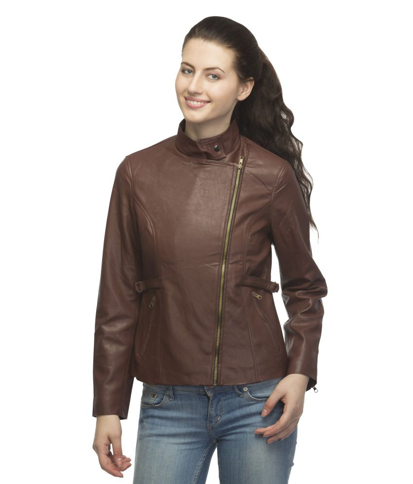 8c8fd7d0d1 Buy Lambency Maroon Leather Jackets Online at Best Prices in India -  Snapdeal