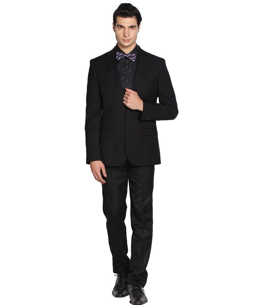 Black Coffee Stylish Black Blazer for Men
