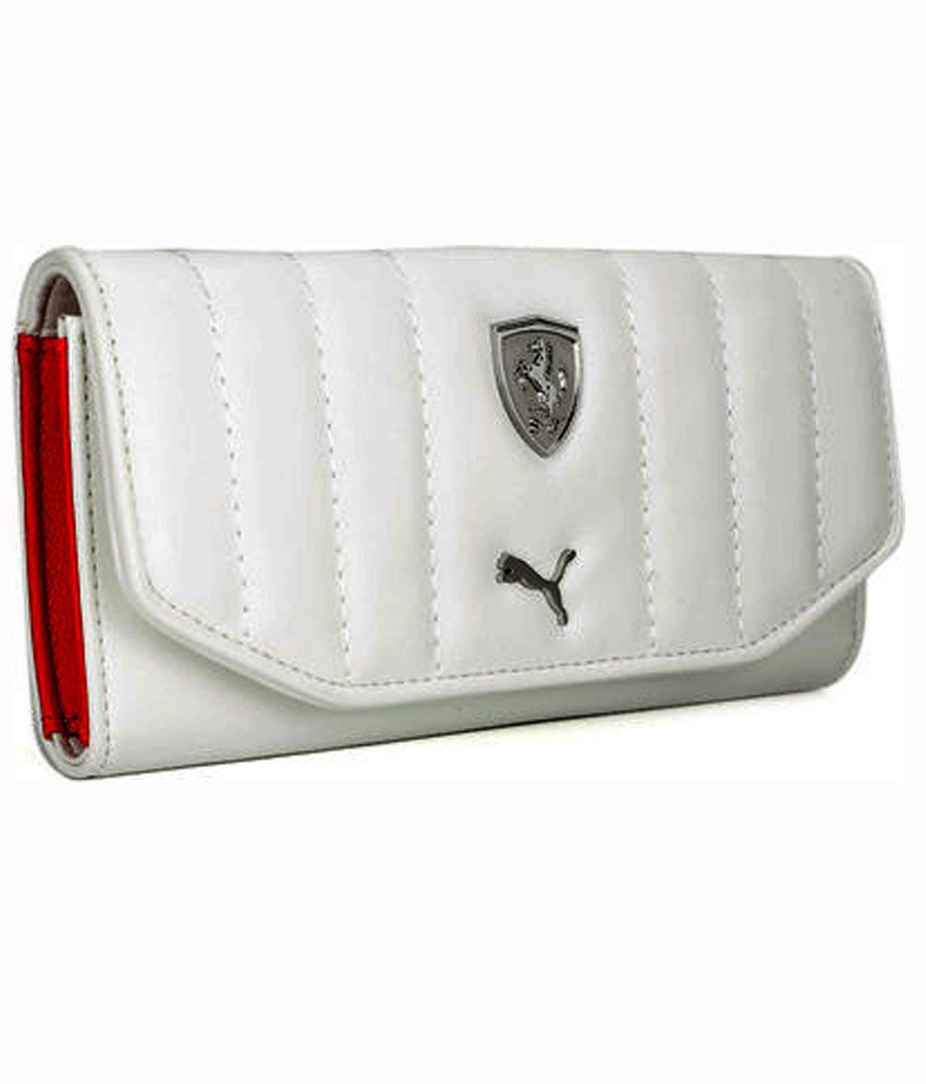 puma ferrari wallet green