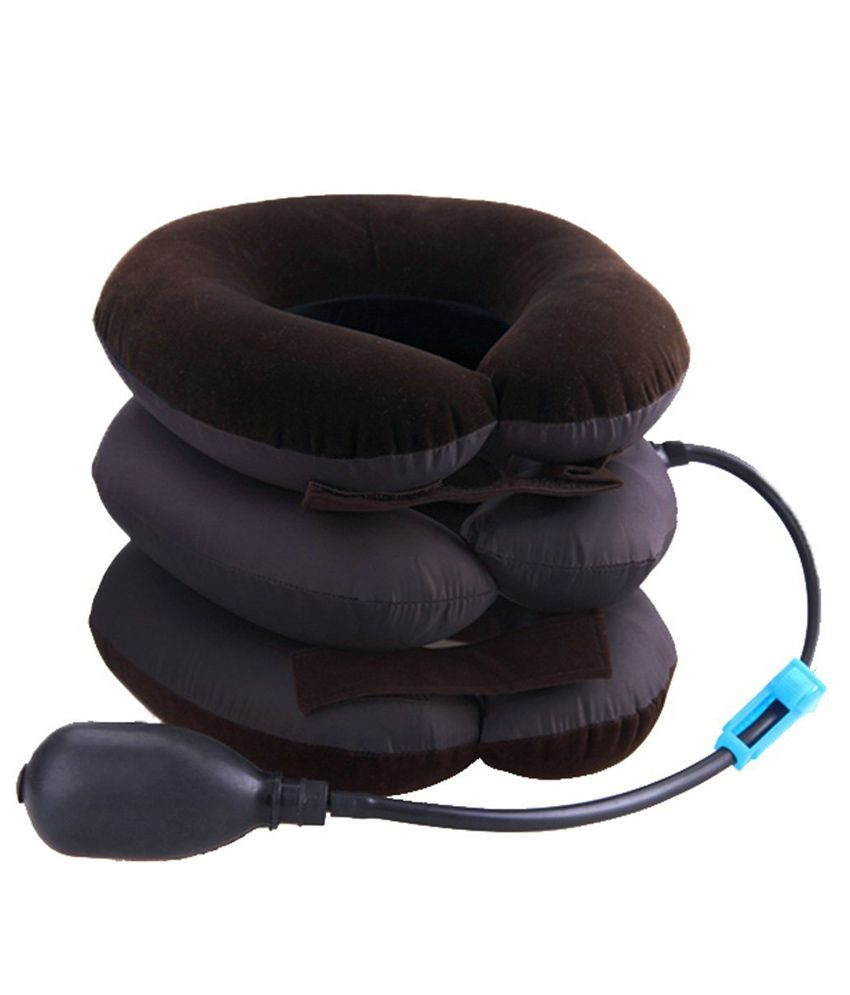 Shopo Portable Neck Pillow Three Layers Massager Cervical Spine