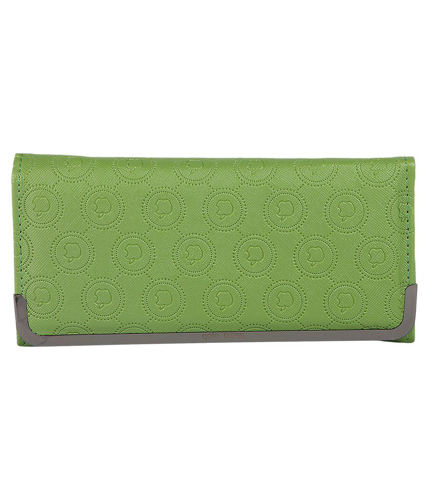 Bonavento Green Clutch