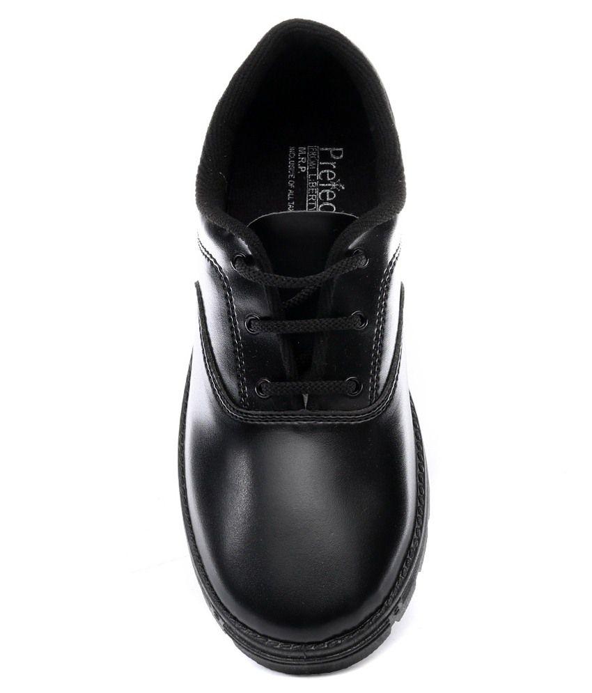 Buy Hitway Black School Shoes For Kids
