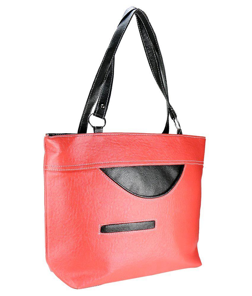 Klazo Pink Hobo Bag