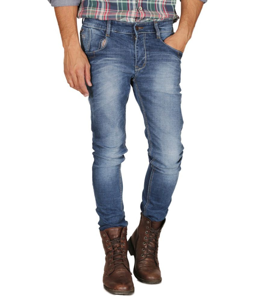 Mynte Blue Slim Fit Jeans