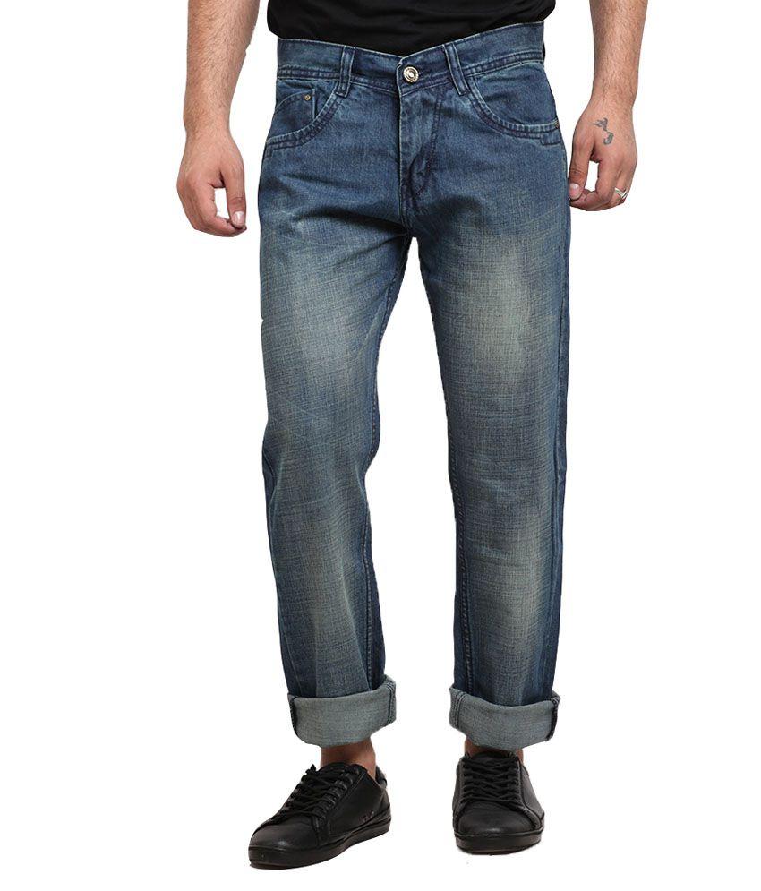 X-CROSS Mens Denim Regular Fit Jeans