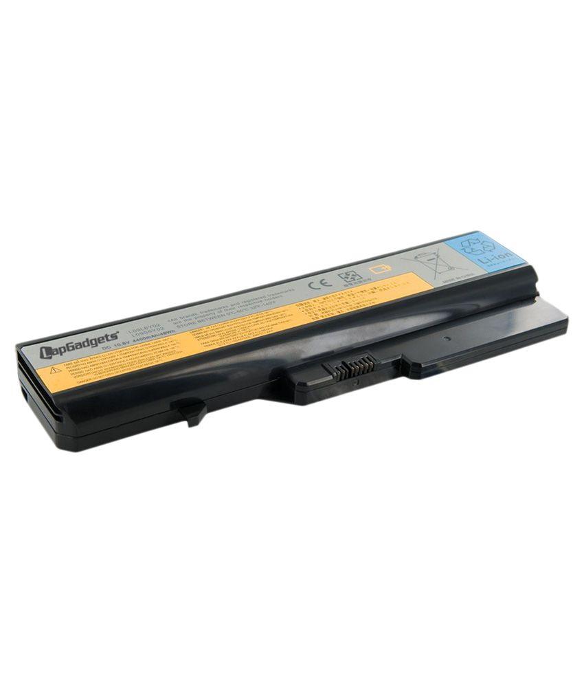 Lap Gadgets Li-on Laptop Battery for Lenovo Idea Pad G570G 6 Cell