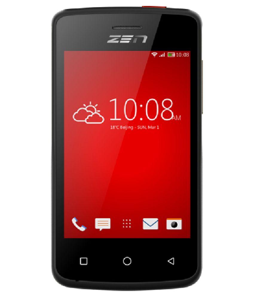 4358129ec Zen P61 Black Mobile Phones Online at Low Prices