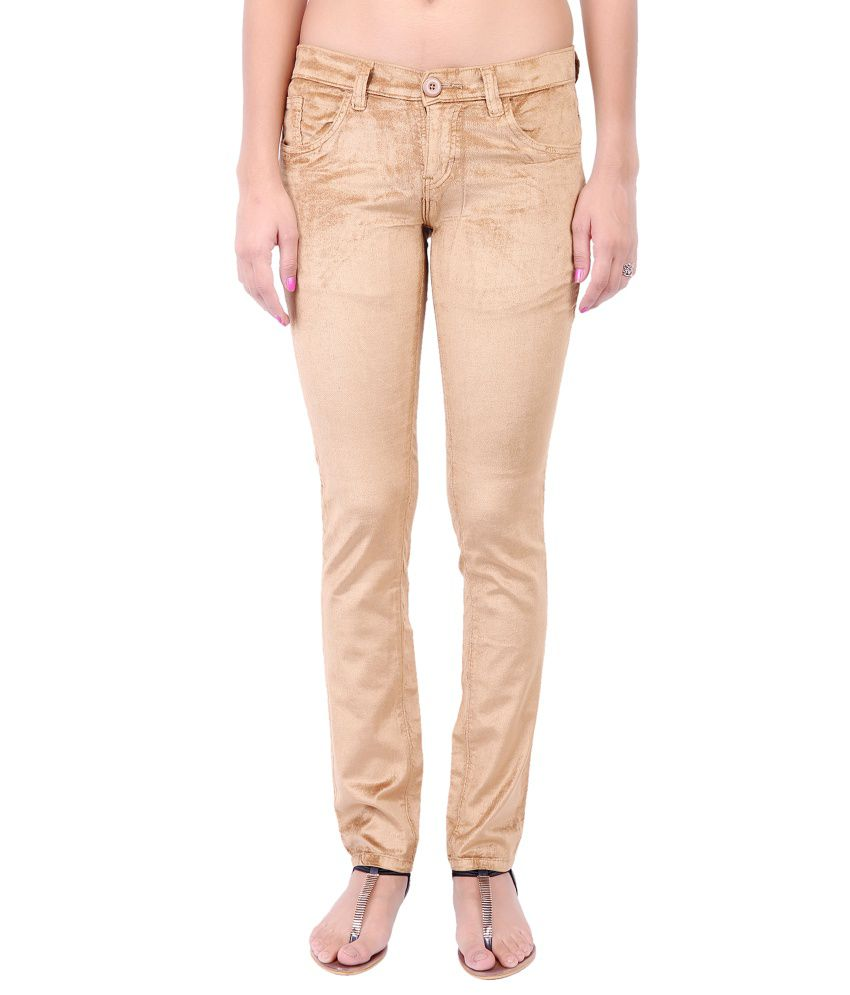 Fashion Cult Brown Corduroy Trousers