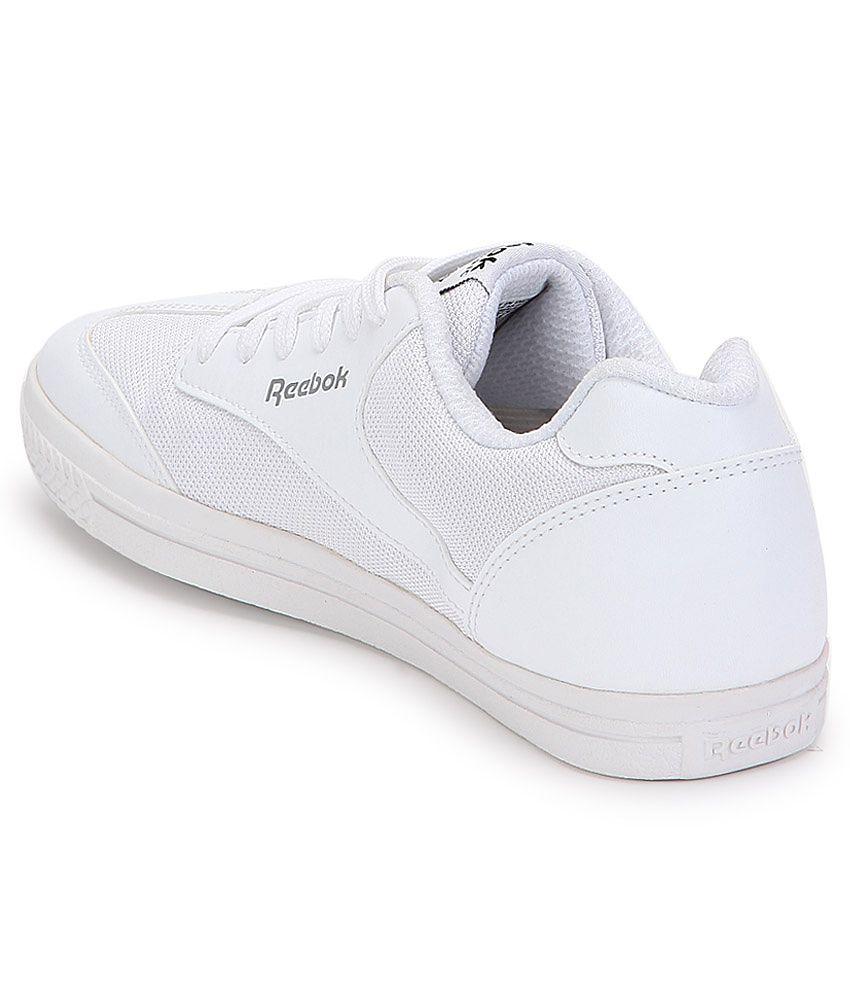02b8fcbdef8 Reebok White Sneaker Shoes - Buy Reebok White Sneaker Shoes Online ...