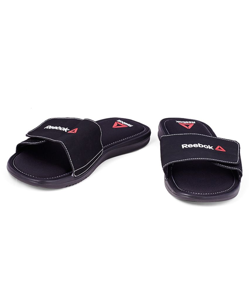 f20fc2490765 Reebok Comfort Slide Black Slippers Reebok Comfort Slide Black Slippers ...