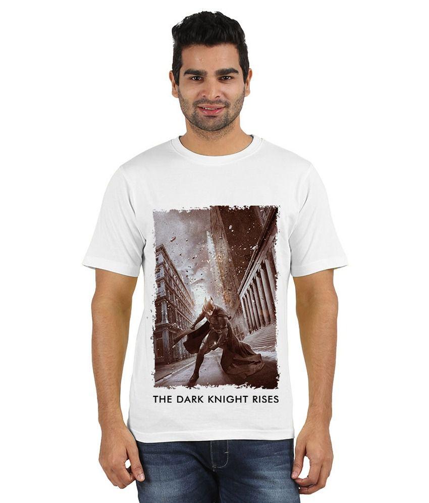 Doozy Shopping White Cotton T-Shirt