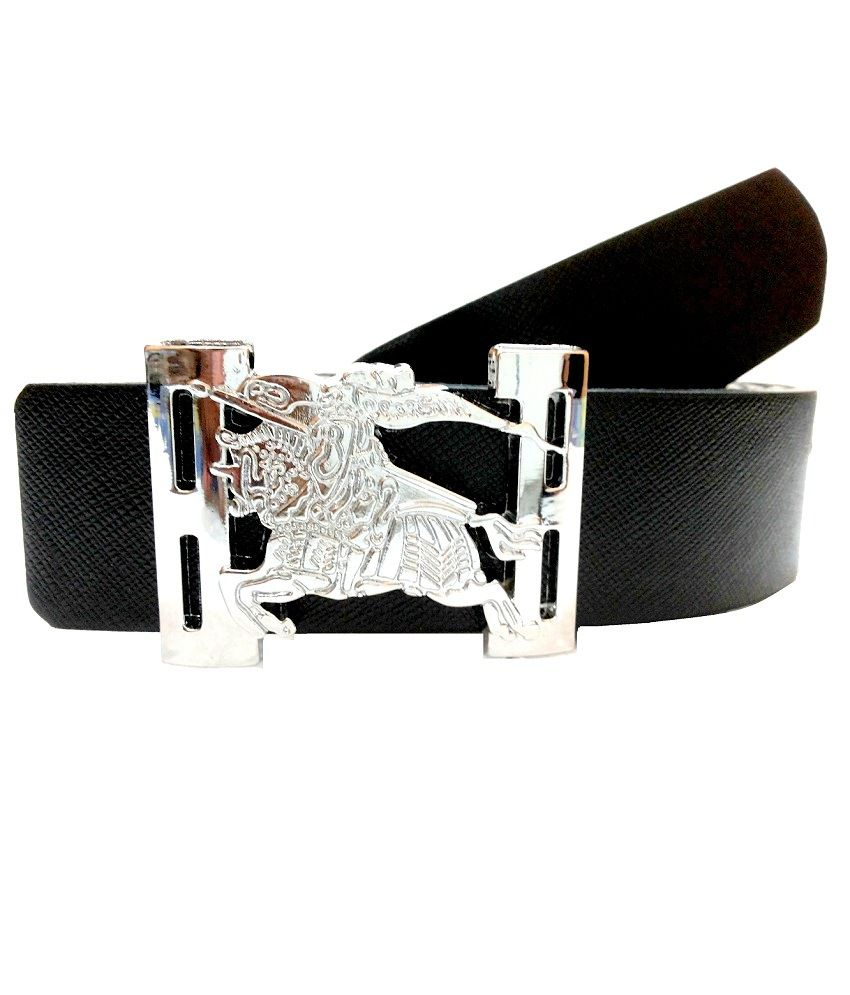 Mode Black Autolock Buckle Casual Belt