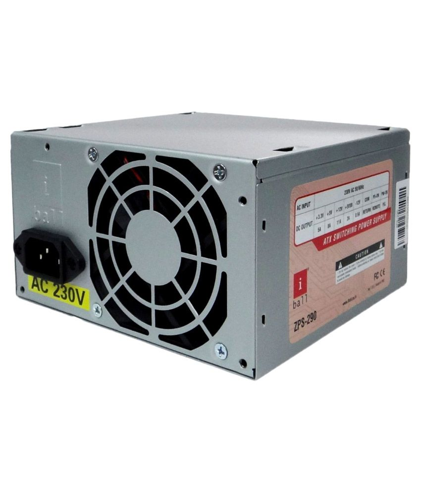 iBall SMPS ZPS 290 Computer Power Supply - Buy iBall SMPS ZPS 290 ...