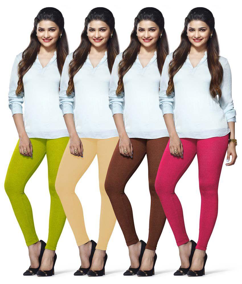 Lux Lyra Multi Cotton Leggings