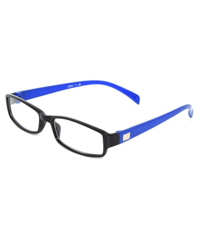 UNIQUE Non Metal Rectangle Eyeglasses Frame - Buy UNIQUE ...