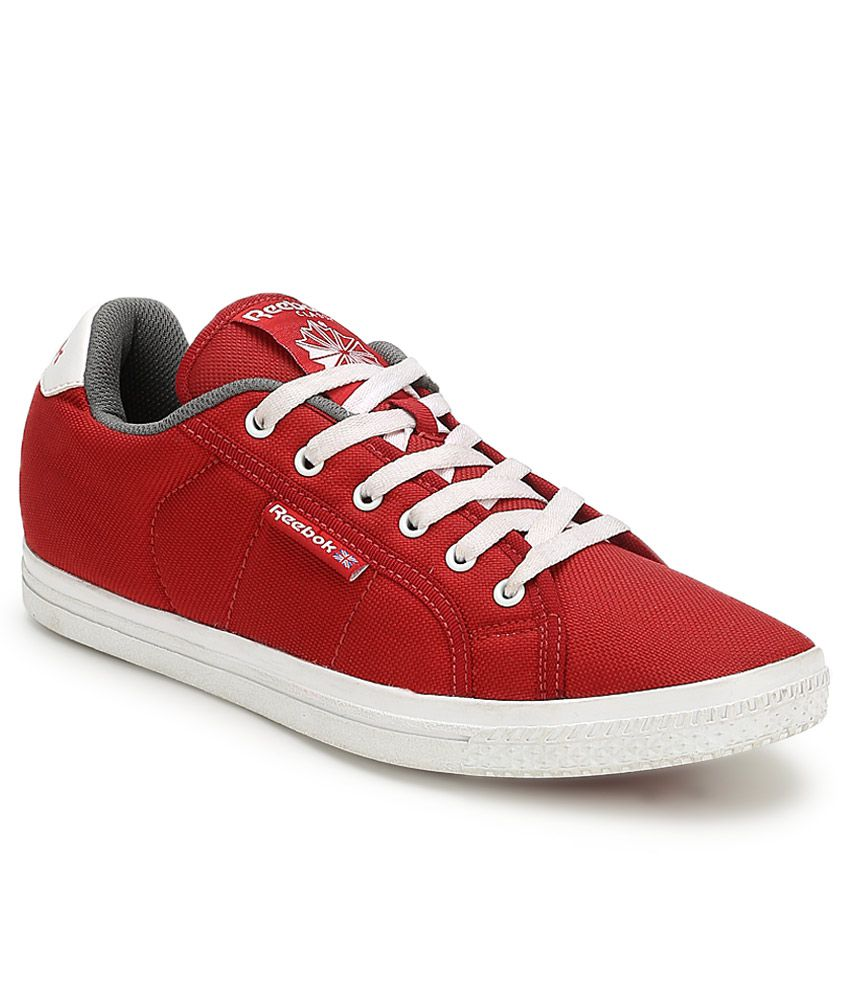 b1aee84bf9c Reebok Red Canvas Shoe Shoes - Buy Reebok Red Canvas Shoe Shoes Online at Best  Prices in India on Snapdeal