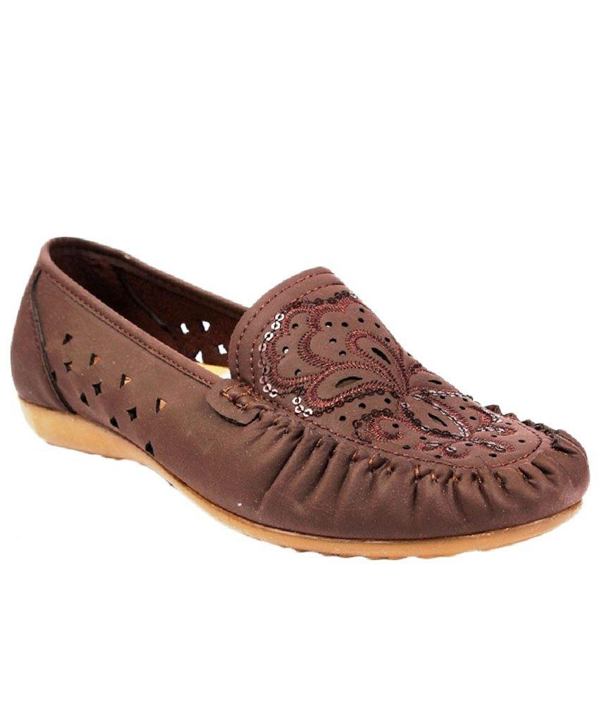 aalishan footwear brown casual shoes price in india buy