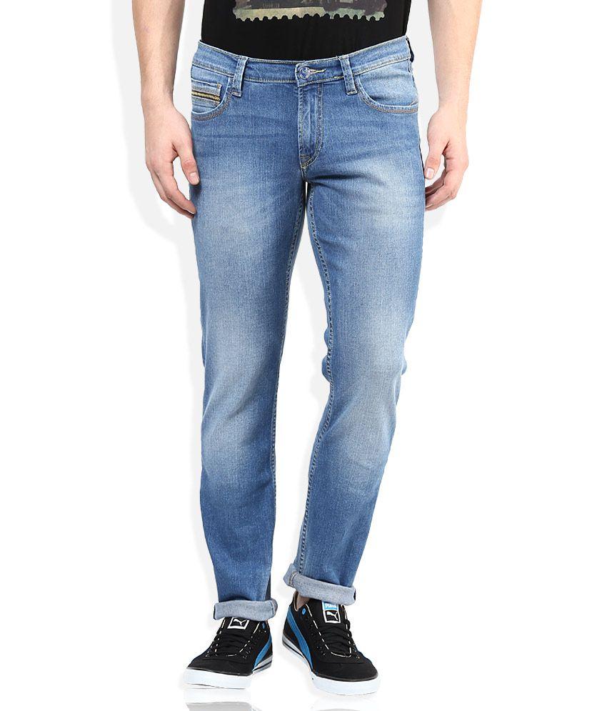 Lee Blue Skinny Fit Jeans