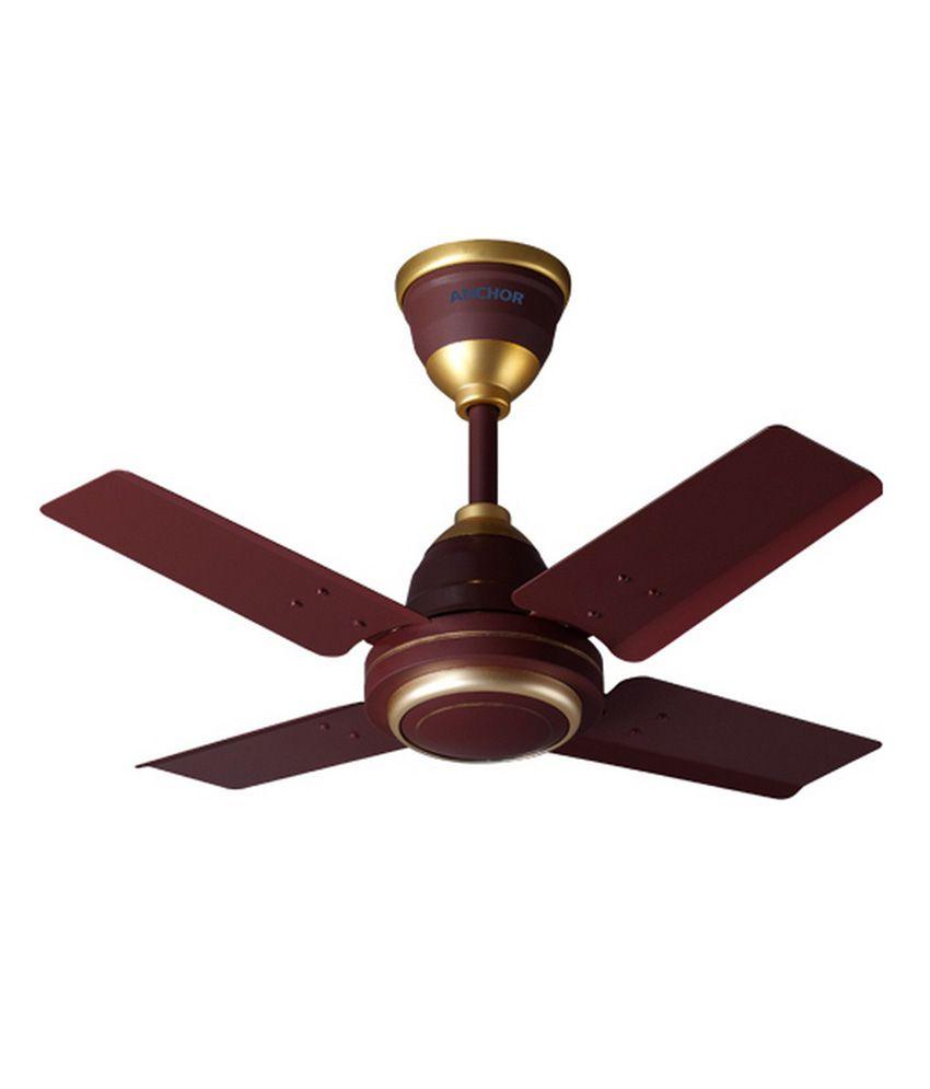 Anchor 24 Lamini Ceiling Fan Brown