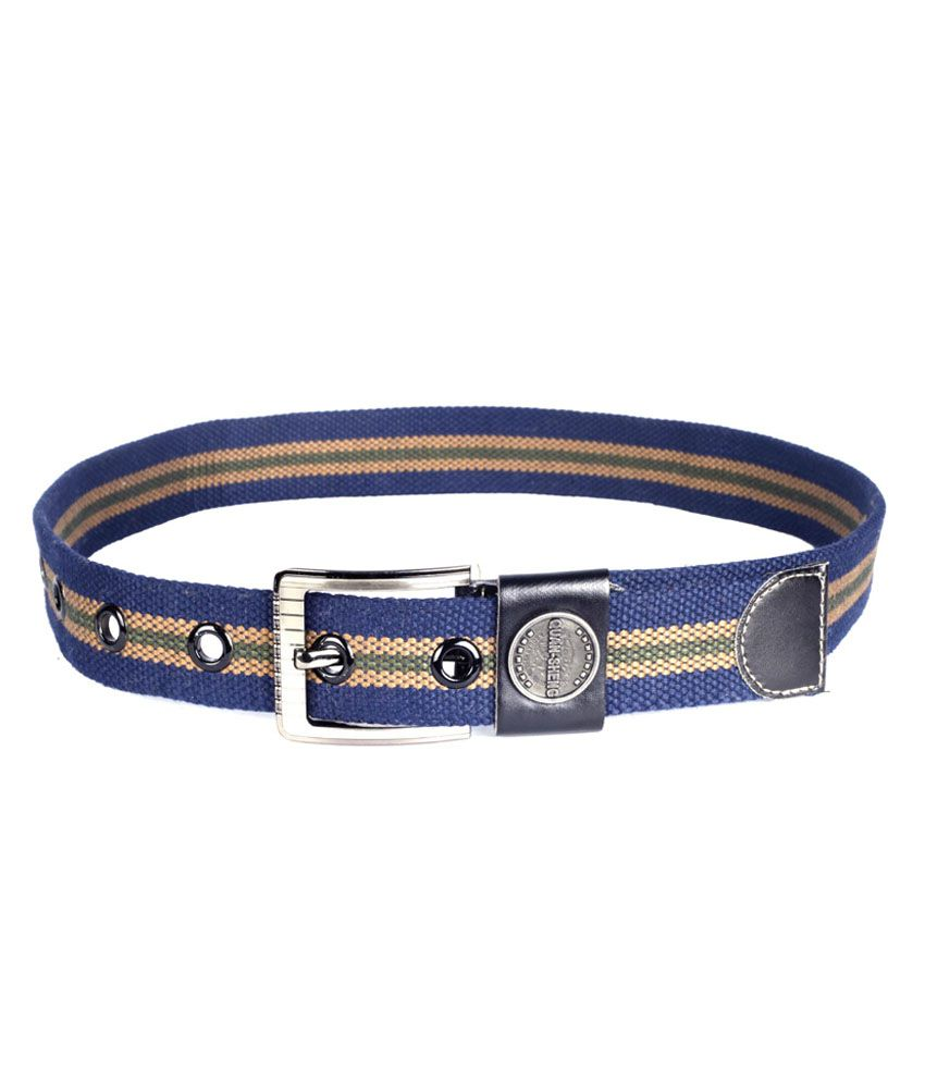 Choudhary Enterprises Canvas Casual Belts For Men - Multicolor