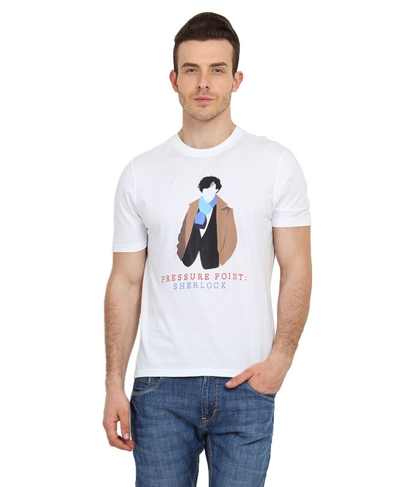 Filmwear White Cotton T-Shirt