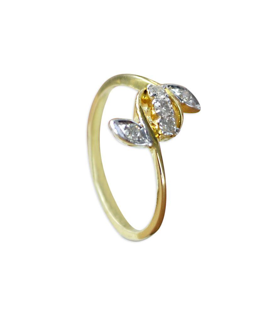 Kataria Jewellers 18kt Gold Diamond Ring