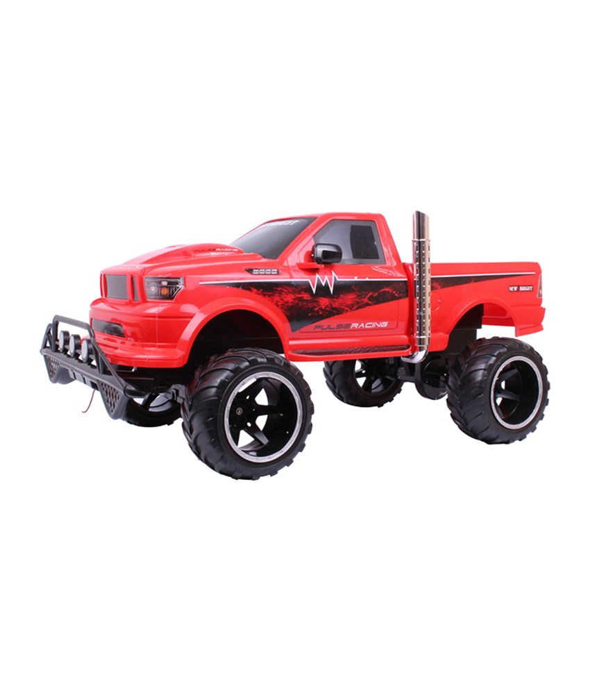 New Bright 1:6 Scale Off Road RC Truck (Red & Black)