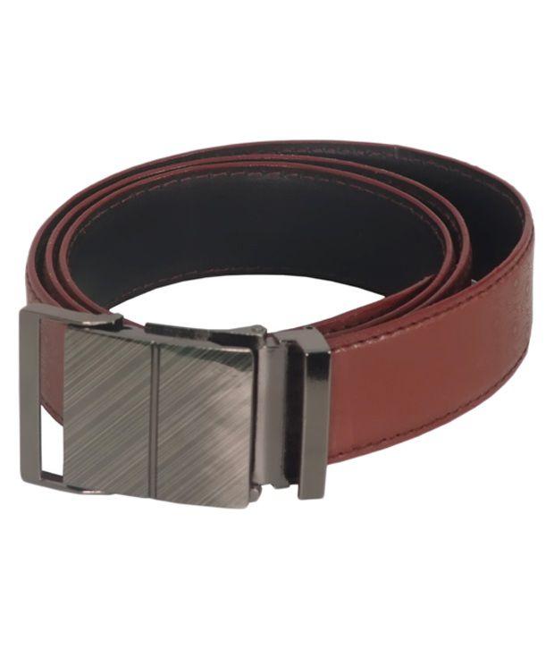 R-BN Brown Formal Belt