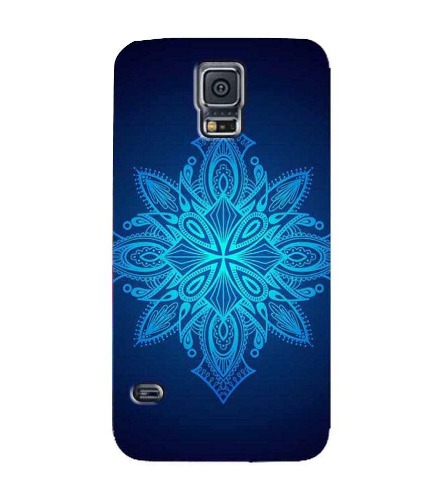 Zapcase Back Cover For Samsung Galaxy S5-multicolour