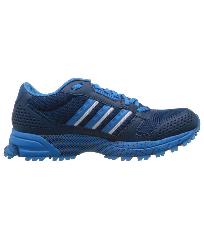 0a7477f6639 ... Adidas Men s Marathon Tr 10 M Navy Blue and Sky Blue Mesh Running Shoes  ...