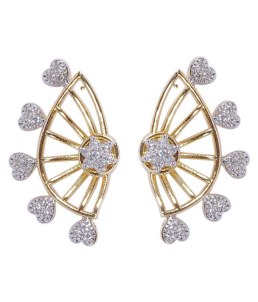 how much are earrings much more beautiful hart design cz fashion ear cuff 7180