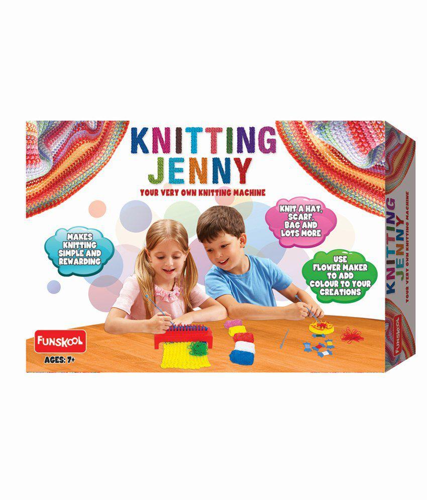 7ad4ed51b Funskool Knitting Jenny