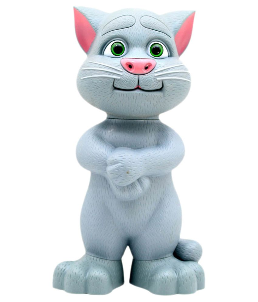 Small Grey Musical Talking Tom Toy
