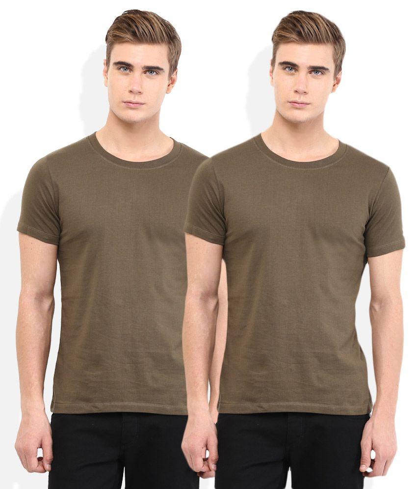 Chromozome Green Regular Fit T-Shirt